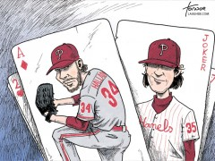 Tornoe's Toons: Phillies Pitching