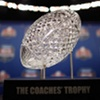 Alabama's $30,000 crystal championship trophy shattered