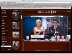 Joe Scarborough has The Sadness