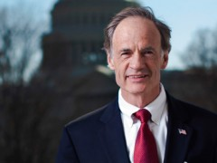 Carper about to get the climate change fight he's been spoiling for