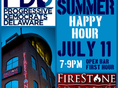 PDD Summer Happy Hour– July 11 at 7 pm