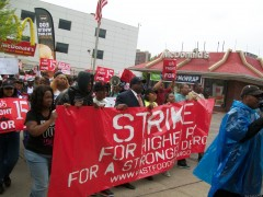 Wilmington Fast-Food Workers To Join Nationwide Strike Today