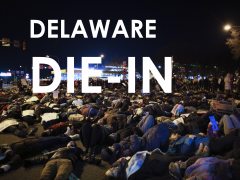 "WDEL to Cover Wilmington ""Die In"" @ 4:30"