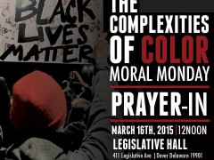 Moral Monday Prayer-In Tomorrow