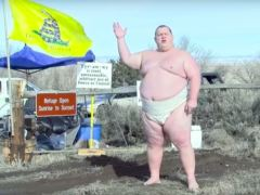 This Oregon Constitutional stand off chap makes a good point – Chris Christie is a jerk.