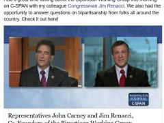 Carney Stampeded by Elephants on CSPAN