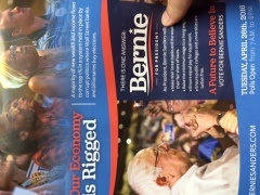 First Political Mailer of the Season – A Sanders Home Run