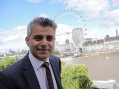 Sadiq Khan Wins London Mayoral Election