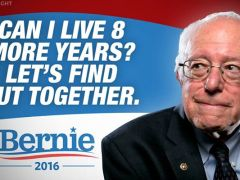 I am a Sanders supporter, so…