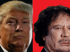 Trump and Qaddafi: Housemates and Business Partners?