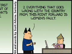 Our National Dilbert Problem