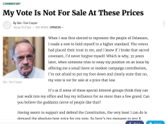 The Onion Absolutely Nails Tom Carper