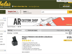 60 Round Magazines For Your AR-15 Available at Cabela's