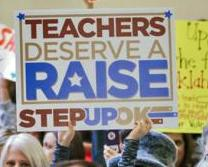 Oklahoma Teachers Demand Economic Justice