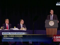 "Chris Coons Must Disassociate Himself From the National ""Prayer"" Breakfast"